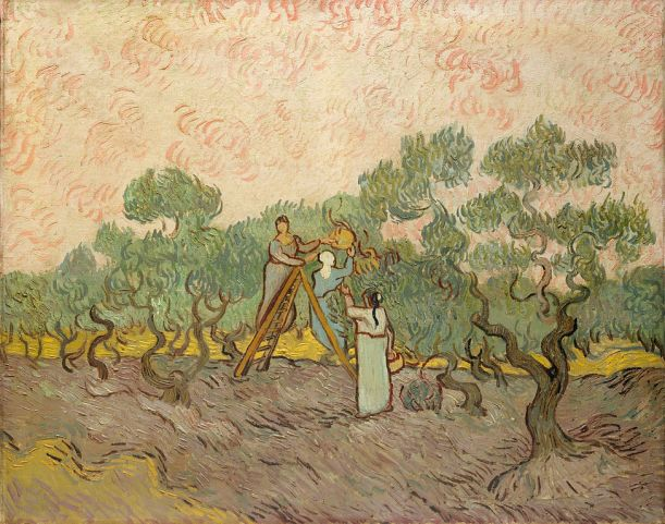 Vincent van Gogh; Olive Pickers; Saint-Rémy, December 1889