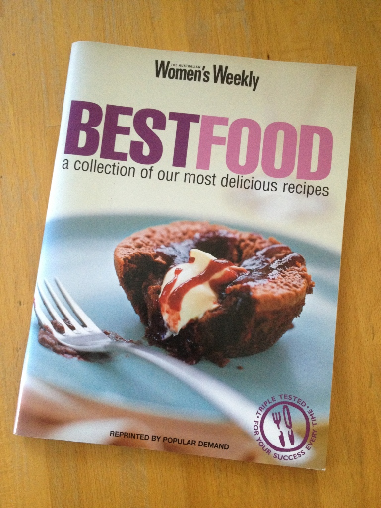 Australian Womens Weekly Best Food book