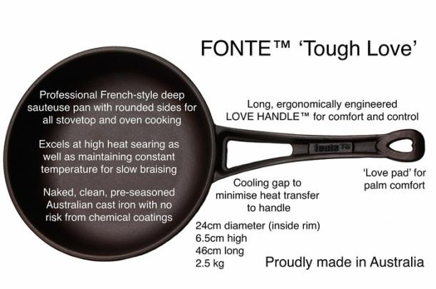 FONTE Tough Love Made in Australia