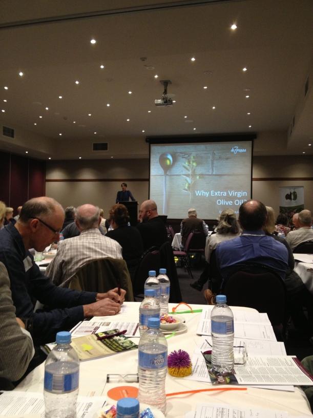 Dr Joanna McMillan, Keynote Speaker, Australian Olive Association Conference 2014.