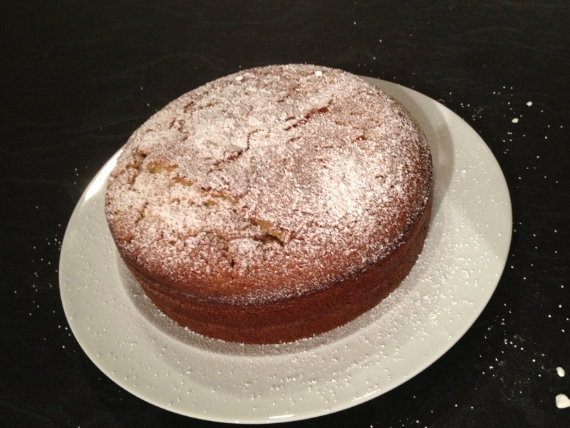Extra Virgin Olive Oil Cake.