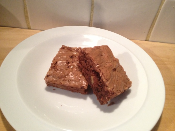 chocolate olive oil evoo walnut brownies