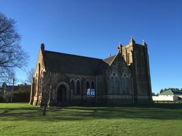 Bothwell church Tasmania